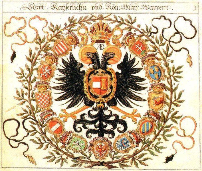 2xUngarn-Wappen_rom-kaiser.JPG